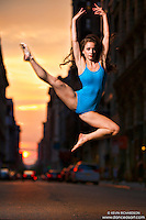 Manhattanhenge New York City- Dance As Art Photography Project featuring dancer, Ashtyn Muzio