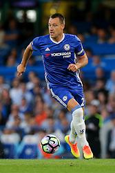 John Terry of Chelsea in action - Rogan Thomson/JMP - 15/08/2016 - FOOTBALL - Stamford Bridge Stadium - London, England - Chelsea v West Ham United - Premier League Opening Weekend.