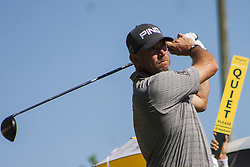 February 3, 2018 - Shah Alam, Kuala Lumpur, Malaysia - Lee Westwood is seen taking a shot from hole no 3 on day 3 at the Maybank Championship 2018...The Maybank Championship 2018 golf event is being hosted on 1st to 4th February at Saujana Golf & Country Club. (Credit Image: © Faris Hadziq/SOPA via ZUMA Wire)