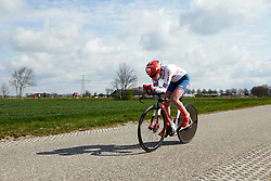 Pfeiffer Georgi (GBR) at Healthy Ageing Tour 2019 - Stage 4A, a 14.4km individual time trial starting and finishing in Winsum, Netherlands on April 13, 2019. Photo by Sean Robinson/velofocus.com