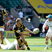 27.05. 2017 Aviva Premiership Rugby Final at RFU Twickenham UK  Exeter Chiefs v Wasps Action from the match which was won by Exeter in extra time 23-20