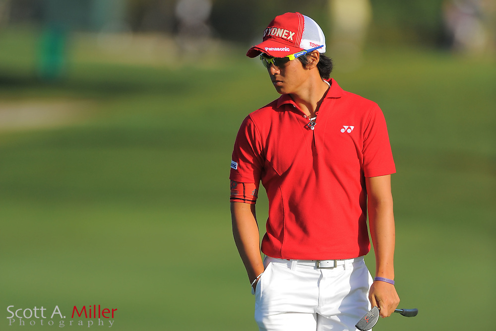 Ryo Ishikawa during the first round of the Arnold Palmer Invitational at the Bay Hill Club and Lodge on March 22, 2012 in Orlando, Fla. ..©2012 Scott A. Miller.