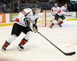 Ryan Spooner helped Team OHL to a 2-1 shootout win over Russia in Game 4 of the SUBWAY Super Series in Sudbury, ON on Monday Nov. 15, 2010.  Photo by Aaron Bell/OHL Images