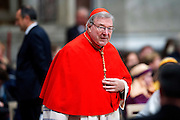 Vatican City jan 1st 2015, holy mass for the solemnity of Mary, the Mother of God. In the picture George Pell