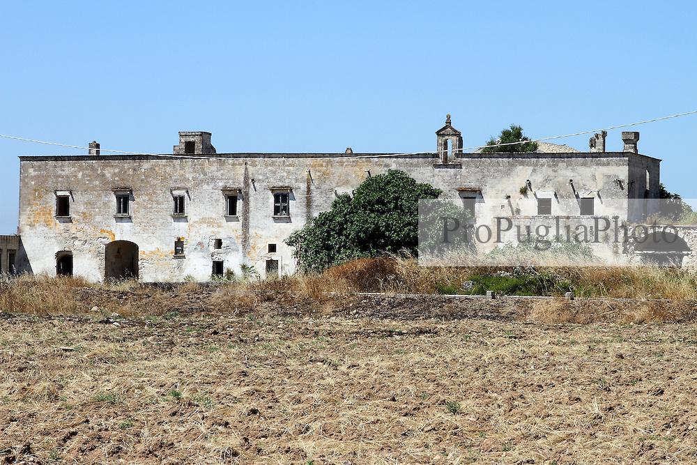Masseria abbandonata, San Giorgio Jonico (TA)