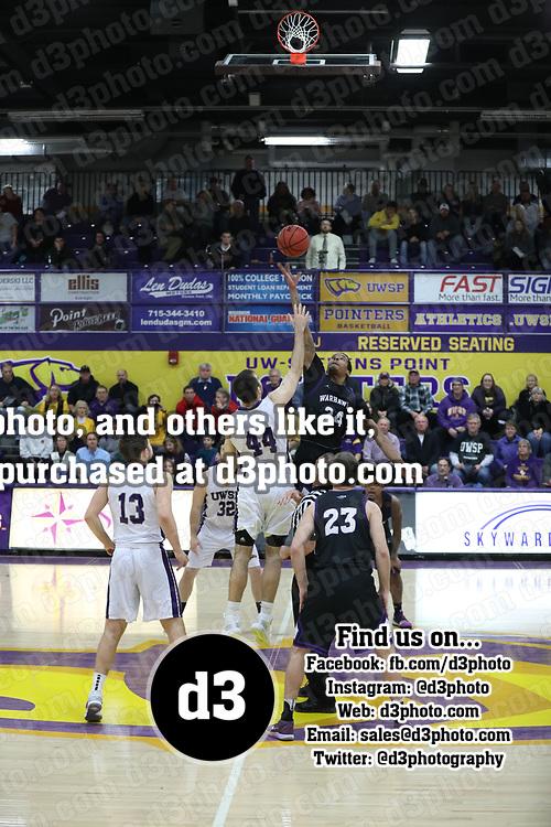 Men's Basketball: University of Wisconsin-Stevens Point Pointers vs. University of Wisconsin-Whitewater Warhawks