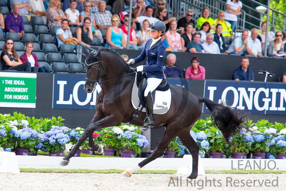 Adelinde Cornelissen - Governor STR<br /> Longines FEI/WBFSH World Breeding Dressage Championships for Young Horses 2016<br /> &copy; DigiShots
