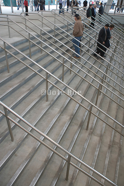 stairs with people walking