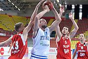 DESCRIZIONE : Skopje torneo internazionale Italia - Polonia<br /> GIOCATORE : Marco Cusin<br /> CATEGORIA : nazionale maschile senior A <br /> GARA : Skopje torneo internazionale Italia - Polonia <br /> DATA : 27/07/2014 <br /> AUTORE : Agenzia Ciamillo-Castoria