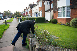 © Licensed to London News Pictures. 11/10/2015. London, UK. Police perform fingertip searches at properties near the scene at the RE bar in Field End Road, Eastcote, Hillingdon where a man was stabbed to death early this morning (SUN). The victim is believed to be  21-year-old Josh Hanson from Kingsbury.  Photo credit: Ben Cawthra/LNP