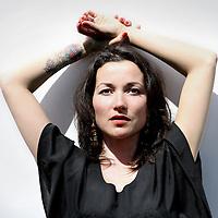 Nederland, Amsterdam , 5 mei 2011..Birgit Schuurman (is een Nederlands rockzangeres en actrice en jongere zusje van de bekende Katja Schuurman..Foto:Jean-Pierre Jans