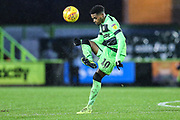Forest Green Rovers Reece Brown(10) controls the ball during the EFL Sky Bet League 2 match between Forest Green Rovers and Mansfield Town at the New Lawn, Forest Green, United Kingdom on 15 December 2018.