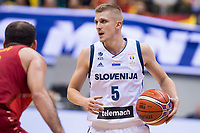 Slovenia Luka Rupnik during FIBA European Qualifiers to World Cup 2019 between Spain and Slovenia at Coliseum Burgos in Madrid, Spain. November 26, 2017. (ALTERPHOTOS/Borja B.Hojas)