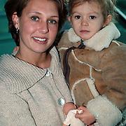 Premiere Kabouter Plop in de Wolken, Jenny de Munk - Sluyter met dochter Bo