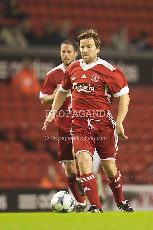 LIVERPOOL, ENGLAND - Thursday, May 14, 2009: Liverpool Legends' Dean Lennox Kelly during the Hillsborough Memorial Charity Game at Anfield. (Photo by David Rawcliffe/Propaganda)