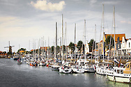Europa, Niederlande, Zeeland, der neue Hafen in Zierikzee auf Schouwen-Duiveland. - <br />