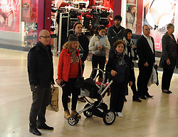 © Licensed to London News Pictures. 11/11/2013<br /> Bugler Bob Cole  ( Formerly 2 Para Regt)<br /> Shoppers and staff at Bluewater near Greenhithe in Kent stop and observe a Two minute silence today (11.11.2013) for Remembrance Day.  <br /> Photo credit :Grant Falvey/LNP