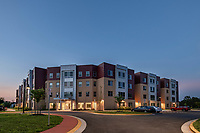 Exterior image of Capital Tech University in Laurel MD by Jeffrey Sauers of Commercial Photographics