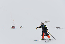 Behind the scenes, at 2018 World Para Alpine Skiing World Cup, Tignes, France