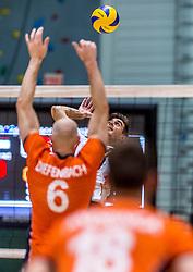 05-06-2016 NED: Nederland - Duitsland, Doetinchem<br /> Nederland speelt de laatste oefenwedstrijd ook in  Doetinchem en speelt gelijk 2-2 in een redelijk duel van beide kanten / Daniel Malescha #19