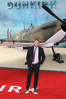 Al Murray, Dunkirk - World film premiere, Leicester Square Gardens, London UK, 13 July 2017, Allied soldiers from Belgium, the British Empire, Canada, and France are surrounded by the German army and evacuated during a fierce battle in World War II.