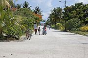 Town , Takapoto, Tuamotu Islands, French Polynesia<br />