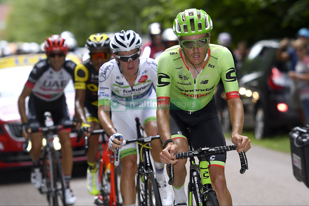 July 7, 2017 - France - BOUET Maxime of Fortuneo - Vital Concept, MORI Manuele of UAE Team Emirates, GENE Yohann of Direct Energie, VAN BAARLE Dylan of Cannondale-Drapac Pro Cycling Team (Credit Image: © Panoramic via ZUMA Press)
