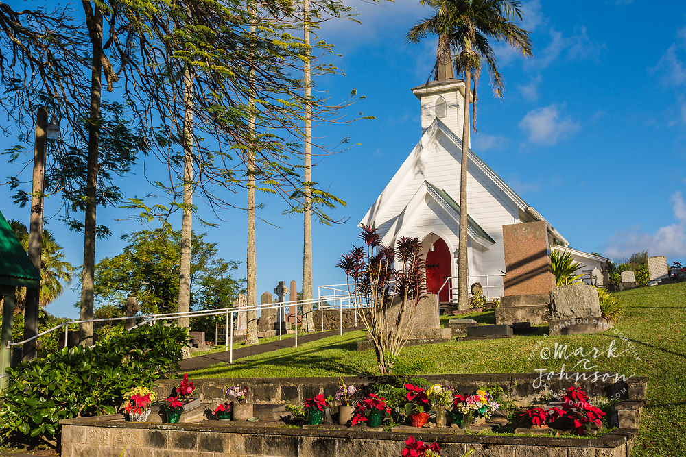 St Augustine's Episcopal Church, Kapa'au, Big Island, Hawaii