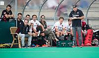 ROTTERDAM - coach Graham Reid (A'dam) met oa Joost Bitterling (A'dam)  bij de finale Rotterdam-Amsterdam van de ABN AMRO cup 2017 . COPYRIGHT KOEN SUYK