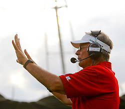 11.07.2011, UPC Arena, Graz, AUT, American Football WM 2011, Group B, Oesterreich (AUT) vs Kanada (CAN), im Bild Rick Rhoades (Austria, Headcoach)// during the American Football World Championship 2011 Group B game, Austria vs Canada, at UPC Arena, Graz, 2011-07-11, EXPA Pictures © 2011, PhotoCredit: EXPA/ E. Scheriau