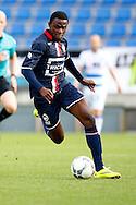 03-09-2015 VOETBAL:WILLEM II- KAA GENT:TILBURG<br /> Willem II Vriendschappelijke wedstrijd zonder publiek tegen KAA Gent<br /> <br /> Asumah Abubakar van Willem II<br />  <br /> Foto: Geert van Erven