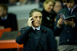 LIVERPOOL, ENGLAND - Tuesday, March 13, 2012: Everton's Chief-Executive Robert Elstone during the Premiership match against Liverpool at Anfield. (Pic by David Rawcliffe/Propaganda)
