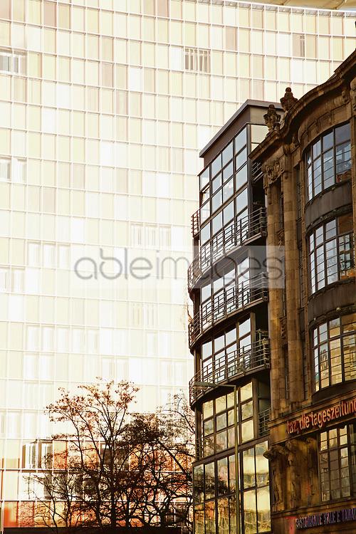 Buildings on the Friedrichstrasse, Berlin, Germany