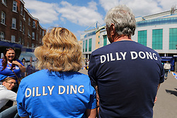 Dilly Ding and Dilly Dong at Stamford Bridge - Mandatory byline: Jason Brown/JMP - 15/05/2016 - FOOTBALL - London, Stamford Bridge - Chelsea v Leicester City - Barclays Premier League