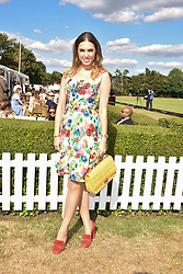 Amber Le Bon at the Laureus polo Cup at Ham Polo Club, Ham, London, England. 21 June 2018.