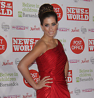 Stacey Solomon News Of The World Children's Champions, Grosvenor House Hotel, Park Lane, London, UK, 30 March 2011:  Contact: Rich@Piqtured.com +44(0)7941 079620 (Picture by Richard Goldschmidt)