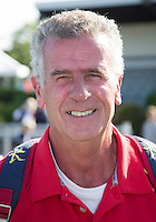 DEN HAAG - Spaanse bondscoach Indurain Salvador. Het team van Spanje , voor de World Cup Hockey. COPYRIGHT KOEN SUYK