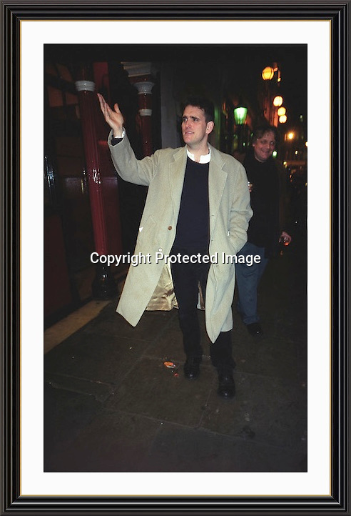 Matt Dillon Coach & Horses Soho 2002<br />