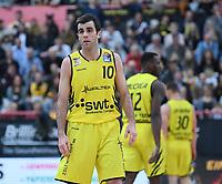 Basketball  1. Bundesliga  2017/2018  Hauptrunde  16. Spieltag  30.12.2017 Walter Tigers Tuebingen - MHP RIESEN Ludwigsburg Jared Jordan (Tigers) nachdenklich