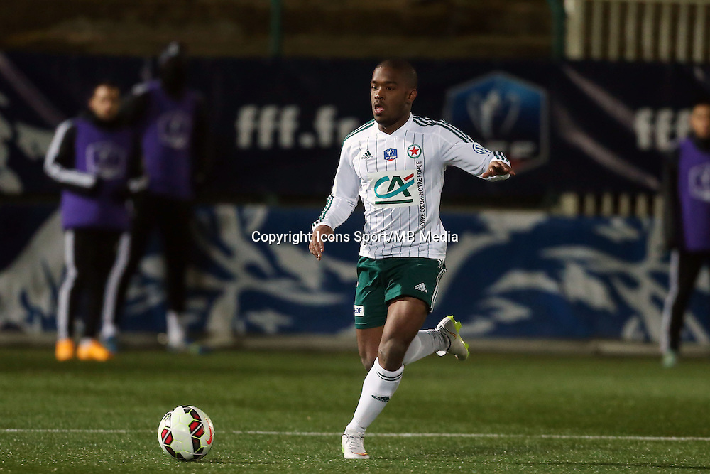 Maki TALL  - 23.01.2015 - Red Star / Marseille Consolat - Coupe de France<br /> Photo : Sebastien Muylaert / Icon Sport