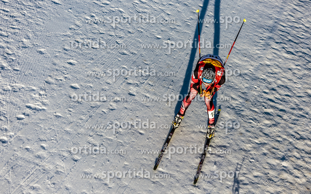 29.01.2016, Casino Arena, Seefeld, AUT, FIS Weltcup Nordische Kombination, Seefeld Triple, Langlauf, im Bild Wilhelm Denifl (AUT) // Wilhelm Denifl of Austria competes during 5km Cross Country Gundersen Race of the FIS Nordic Combined World Cup Seefeld Triple at the Casino Arena in Seefeld, Austria on 2016/01/29. EXPA Pictures © 2016, PhotoCredit: EXPA/ JFK