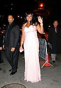 Singer Jennifer Hudson attends The Whitney Museum of American Art's Gala and Studio Dinner in New York City on October 19, 2009.