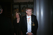 Prof. Sir Colin St. John Wilson. Royal Academy Annual dinner to celebrate the opening of the Summer exhibition. Royal Academy. Piccadilly. London. 1 June 2005.  ONE TIME USE ONLY - DO NOT ARCHIVE  © Copyright Photograph by Dafydd Jones 66 Stockwell Park Rd. London SW9 0DA Tel 020 7733 0108 www.dafjones.com
