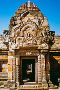 Entrance to Phanom Rung Cambodian/Khmer stone temple near Burriram Thailand <br />