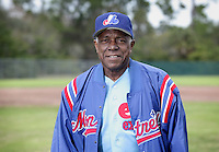 Ron Leflore, former Montreal Expos MLB player, poses in a baseball field in St. Petersburg, Florida on Thursday January 18, 2013.