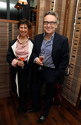 STEPHEN & FLO BAYLEY at a St.Valentine's dinner hosted by Ruinart champagne at Tom Aikens Restaurant, Elystan Street, London on 6th February 2007.<br /><br />NON EXCLUSIVE - WORLD RIGHTS