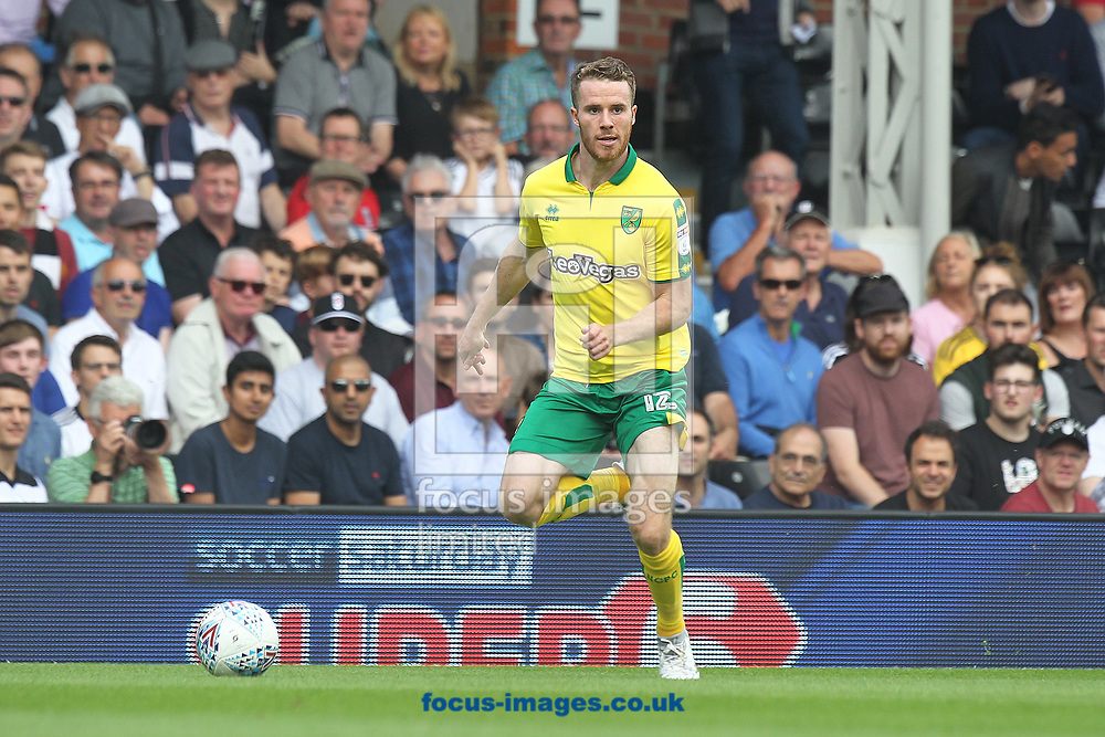 Marley Watkins of Norwich in action during the Sky Bet Championship match at Craven Cottage, London<br /> Picture by Paul Chesterton/Focus Images Ltd +44 7904 640267<br /> 05/08/2017