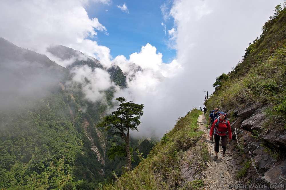 Nice views a-plenty on our hike up the Yushan Hiking Trail to Jade Mountain.