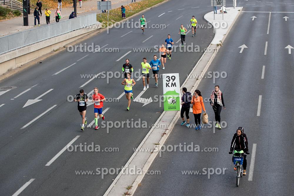 Athletes during 22nd Ljubljana Marathon 2017 on October 29, 2017 in Ljubljana, Slovenia. Photo by Matic Klansek Velej / Sportida