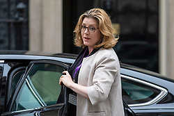 © Licensed to London News Pictures. 05/06/2018. London, UK. Secretary of State for International Development Penny Mordaunt arrives on Downing Street for the Cabinet meeting. Photo credit: Rob Pinney/LNP